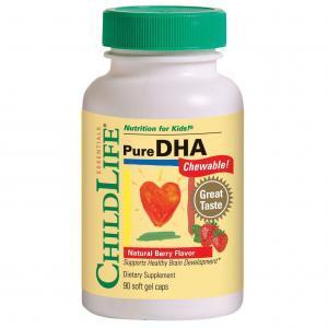 Pure DHA 90 capsule moi masticabile (gust de fructe)