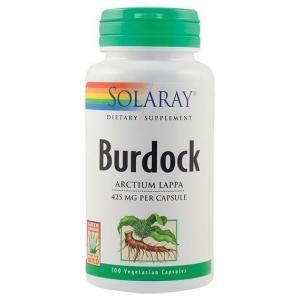 Burdock (Brusture) 425mg 100 capsule vegetale