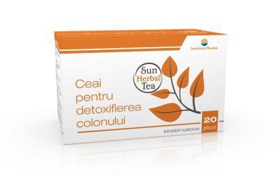 detoxifierea colonului ceai