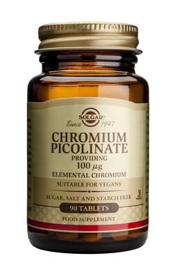 Chromium Picolinate 100mg 90 tablete