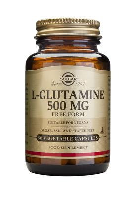 L-Glutamine 500mg 50veg caps