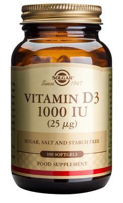 Vitamin D3 1000ui 100cps