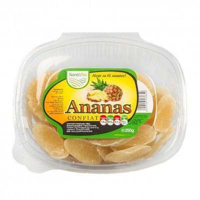 Ananas confiat 250g