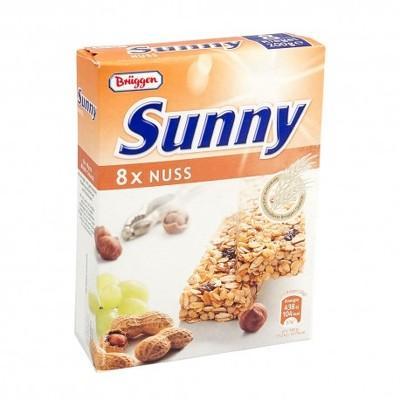 Bruggen Batonn cereale și alune - cutie 8x25g