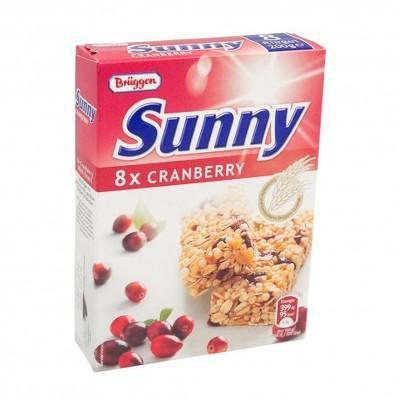 Bruggen Baton cereale cu merișor - cutie 8x25g