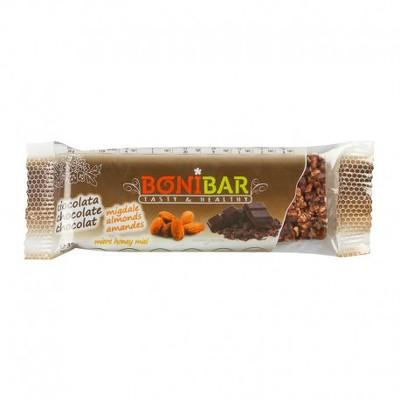 Bonibar Baton Ciocolata si Migdale 38G