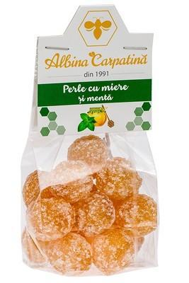 PERLE CU MIERE&MENTA 100GR (ALBINA CARPATINA)