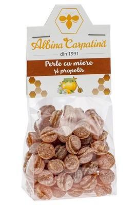 PERLE CU MIERE&PROPOLIS 100GR (ALBINA CARPATINA)