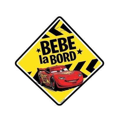 Semn auto Bebe la Bord - Cars SEV9621