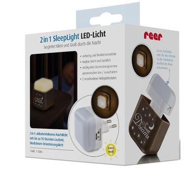 Lampa de veghe 2 in 1 cu LED-uri REER 5085