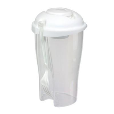Cupă pentru salată VEGGIE CUP - alb