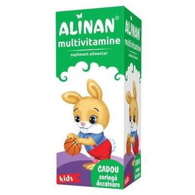 ALINAN MULTIVITAMINE KIDS SIROP 150ML