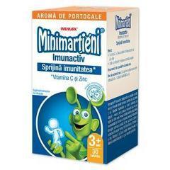 Minimartieni Imunactiv portocale 30 Tablete
