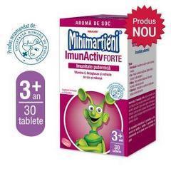 Minimarțieni ImunActiv Forte 30 tablete