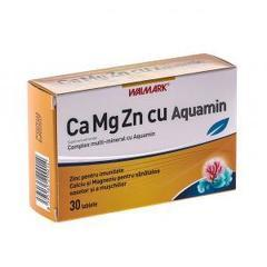 Ca Mg Zn cu Aquamin 30 Tablete