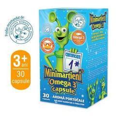 Minimarțieni Omega 3 30 Cps