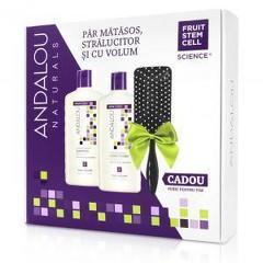 Pachet Promo: Full Volume Shampoo&Conditioner + Perie CADOU