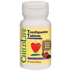 Toothpaste Tablets 60 tablete (gust de fructe)