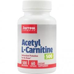 Acetyl L-Carnitine 500mg 60 capsule vegetale