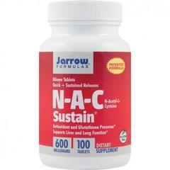 N-A-C Sustain 600mg 100 tablete cu eliberare prelungita (Bilayer Sustain)