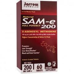 SAM-e 200mg 60 tablete vegetale protejate enteric