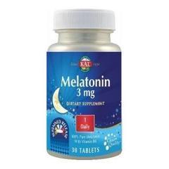 Melatonin 3mg 30 tablete cu eliberare prelungita