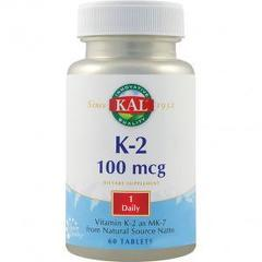 Vitamin K-2 100mcg 60 tablete ActivTab
