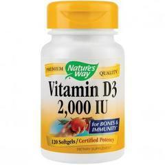 Vitamin D3 2000UI (adulti) 120 capsule moi