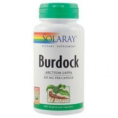 Burdock (Brusture) 425mg 100 capsule vegetale