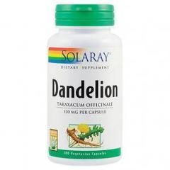 Dandelion (Papadie) 520mg 100 capsule vegetale