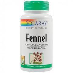 Fennel (Fenicul) 450mg 100 capsule vegetale
