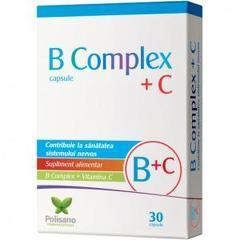 B COMPLEX+C 30CPS