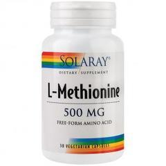 L-Methionine 500mg 30 capsule vegetale