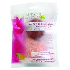 Sensitive Konjac Facial Sponge Duo