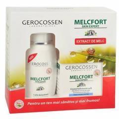 Set Cadou Melcfort Soft: Crema hidratanta + Lapte demachiant