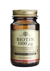 Biotin 1000mcg 50 capsule vegetale