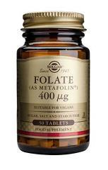 Folate (as Metafolin) 400mcg 50 tabs