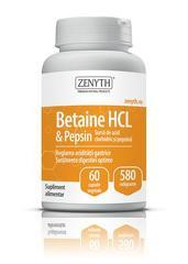 BETAINE HCL&PEPSIN 580MG 60CPS