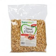 Musli crunch cu oligofructoză 400g