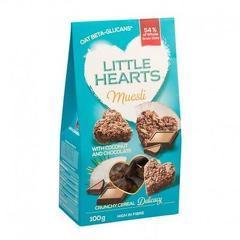 Little Hearts cocos & ciocolată 100g