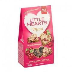 Little Hearts cu merișor 100g