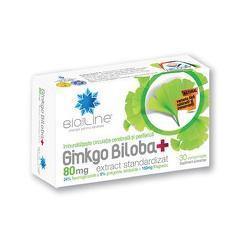 GINKGO BILOBA+ 80MG 30CPR