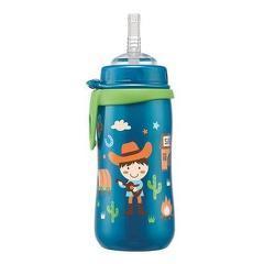 Cana Straw Cup Boy cu clip si pai de baut,nip 35067