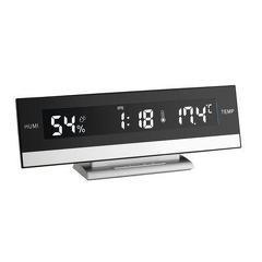 Termo-higrometru cu ceas si alarma iluminat TFA 60.2011
