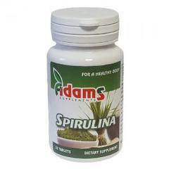 Alga Spirulina 400mg 150cpr ADAMS VISION 1 + 1 GRATIS