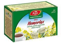Ceai HEMORLAX, 20 pliculeţe