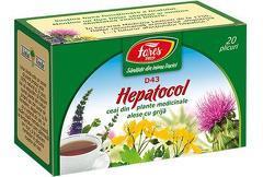 Ceai HEPATOCOL, 20 pliculeţe