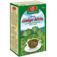 GINKGO BILOBA – FRUNZE, punga a 50 gr