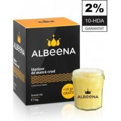 Laptisor de matca pur crud 2% 10-HDA 50gr ALBEENA