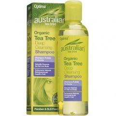 Sampon Antiseptic Curatare Profunda Cu Ulei Din Arbore De Ceai (Tea Tree) 250ml OPTIMA